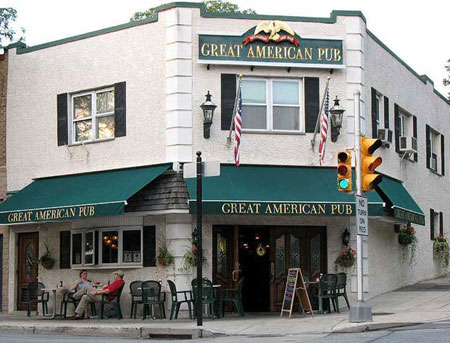 Great american pub in narberth pa bald eagle catering for Great american builders